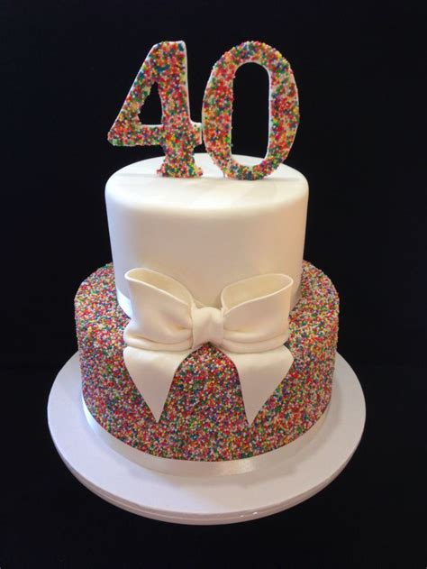 Best 40th Birthday Cake Ideas And Images On Bing Find What You
