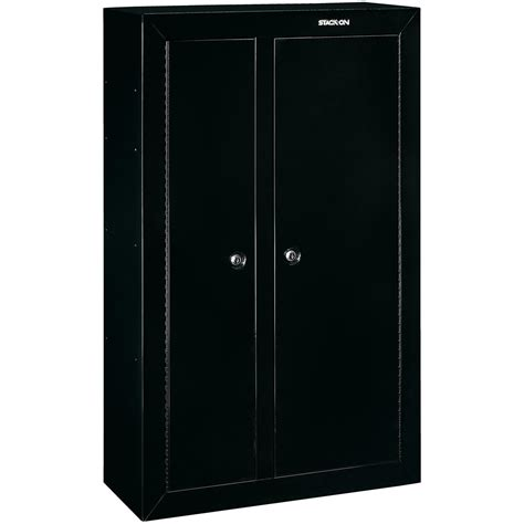 stack on pistol security cabinet stack on 174 10 gun door security cabinet 616691