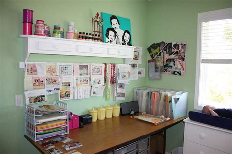 scrapbook room organization the side up