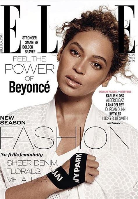 Beyonce Slays On The Cover Of Elle Us & Elle Uk Magazine's
