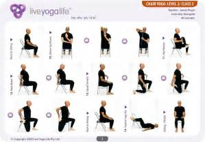 pb update chair yoga for seniors on fridays at 9 30am in