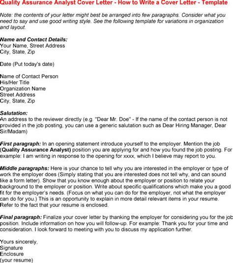 18303 qa cover letter quality assurance cover letter resume badak