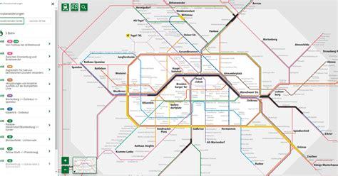 interaktives liniennetz fuer  bahn  bahn regio  bahn