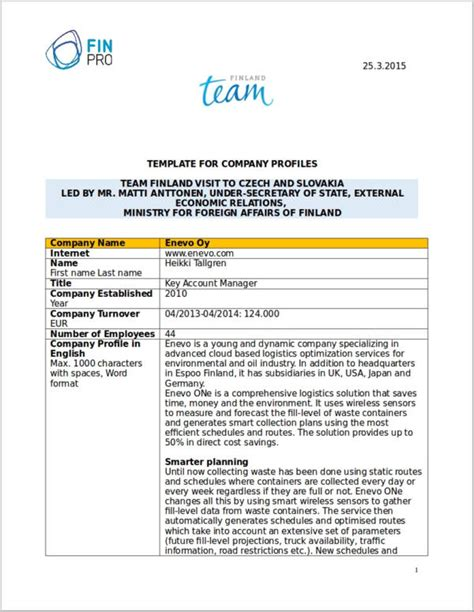 Company Profile Sles Template by Simple Company Profile Template 28 Images Simple