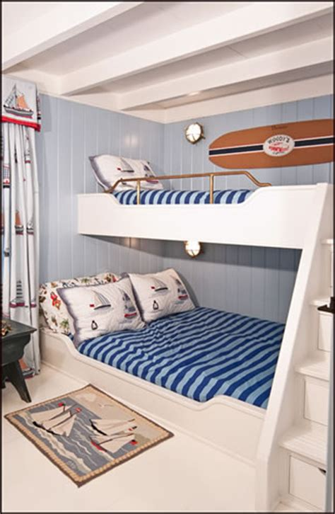 Beach House Decor, Beds And Other Joinery For Small Spaces