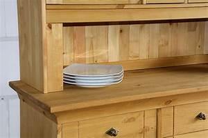 Massivholz Buffetschrank Küchenschrank Buffet Kiefer
