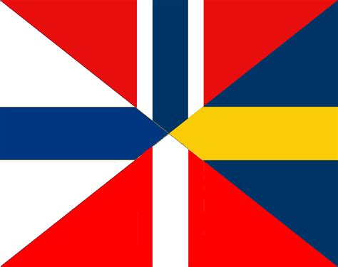 Nordic Union Flag by TimoHD on DeviantArt