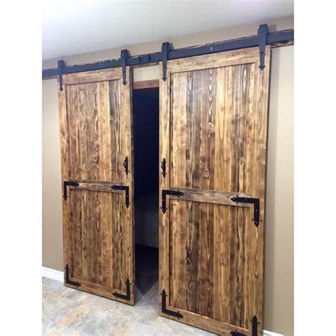 diy sliding barn door aliexpress com buy 7 5ft black country arrow