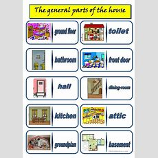 The General Parts Of The House Worksheet  Free Esl Printable Worksheets Made By Teachers