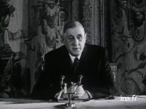 Charles de gaulle - paroles publiques - Conférence de ...