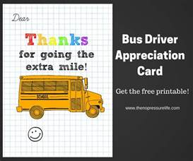 driver appreciation card free printable