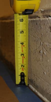 basement   finish room  protruding concrete