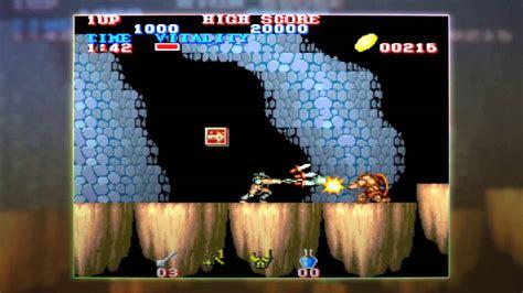 Capcom Arcade Cabinet Black Dragonblack Tiger Trailer