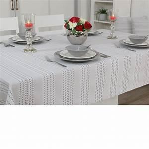 Tischdecken Mit STREIFEN Groe Tischdecken TiDeko