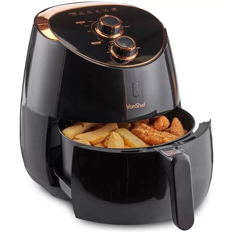 fryer air vonshef 5l oil fry cooker chip fat frying health low fryers healthy chips popsugar food timer does features