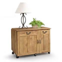 sauder sewing craft table cabinet storage sauder sewing machine craft table drop leaf shelves