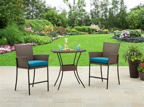 Balcony Furniture Set by Mainstays 3 Bistro Set Only 99 Shipped More Patio