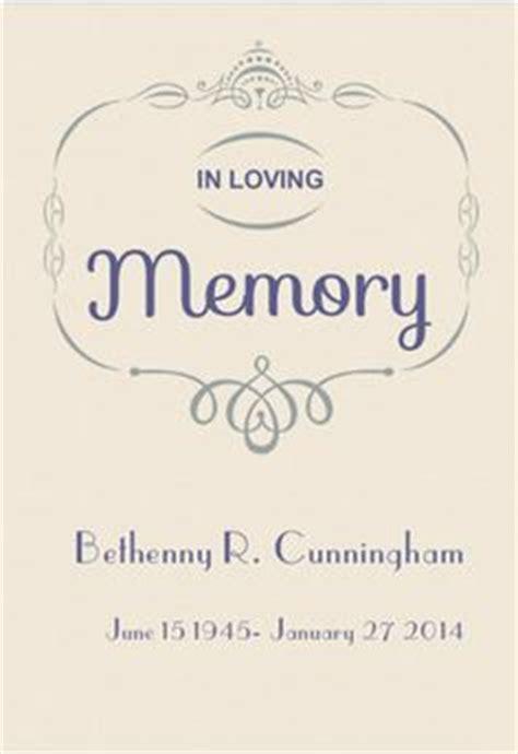 in loving memory templates costumepartyrun