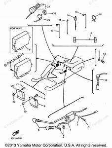 Yamaha Snowmobile 1997 Oem Parts Diagram For Electrical