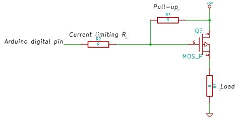 Arduino What The Conventional Circuit Control