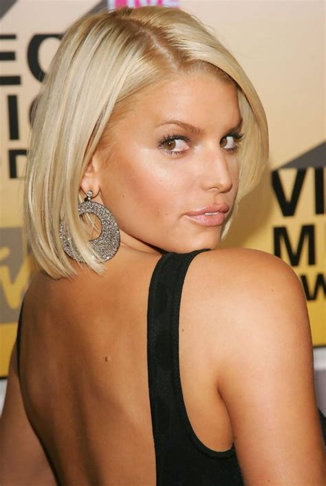 Cute Quick & Easy Short Haircut for Women: Jessica Simpson