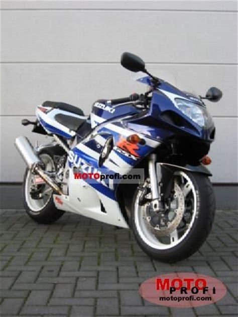 2003 Suzuki Gsxr 600 Specs by Suzuki Gsx R 600 2003 Specs And Photos