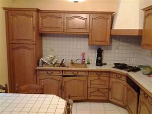 simple refaire sa cuisine rustique en moderne cuisine en With refaire sa cuisine rustique en moderne