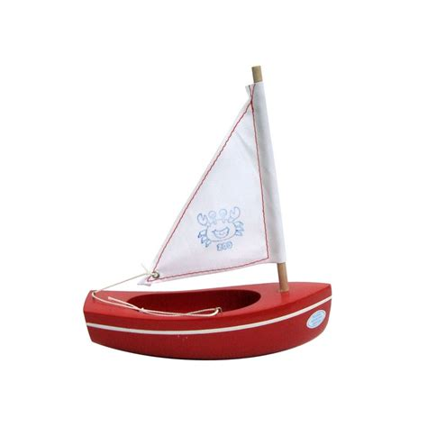Toy Boat Outline by Tirot Wooden Toy Boat For Children French Blossom