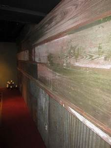 beautiful barnwood and barn tin wall barnwood pinterest With barn tin walls