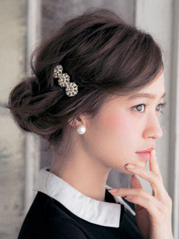 hair style picks 時短 コスパ 簡単セルフヘアアレンジでドレススタイルを華やかに 7655