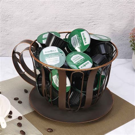 No problem, because good ideas are made when there is great coffee. Best and cheap brown Brown Coffee Pod Container Espresso Pod Holder Coffee Mug Storage Basket ...