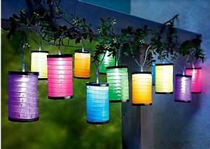 Solar Deko Für Balkon : led lichterkette lampions deko led und solar ~ Bigdaddyawards.com Haus und Dekorationen