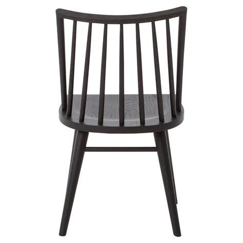 lara modern classic black oak simple dining chair kathy