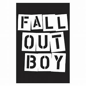 Fall Out Boy Stencil Logo Magnet