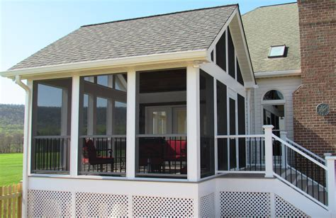 middletown screened porch addition talon construction