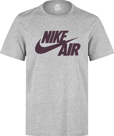 t shirt nike air 2 nike air logo t shirt grey