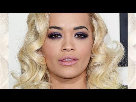rita ora grammys  inspired makeup tutorial youtube