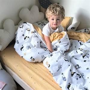 Couette Et Oreiller : couette et oreiller pour enfants en coton respirant mon prince ~ Teatrodelosmanantiales.com Idées de Décoration