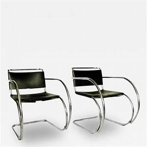 Mies Van Der Rohe Chair : ludwig mies van der rohe pair of mr 20 lounge chairs mies van der rohe ~ Watch28wear.com Haus und Dekorationen