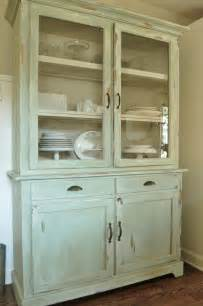 hutch kitchen furniture how to a of furniture look with paint and distressing kitchen hutch reveal