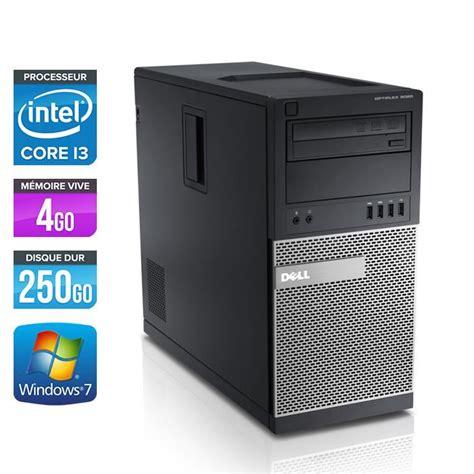 ordinateur de bureau dell pas cher dell optiplex 790 tour i3 2120 3 3ghz 4go prix