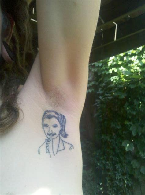 armpit tattoo  tumblr
