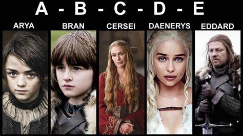 ¿sabes El Porqué De Los Nombres En Juego De Tronos