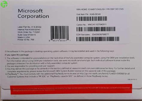 windows  pro retail box  bit windows  product key  microsoft office