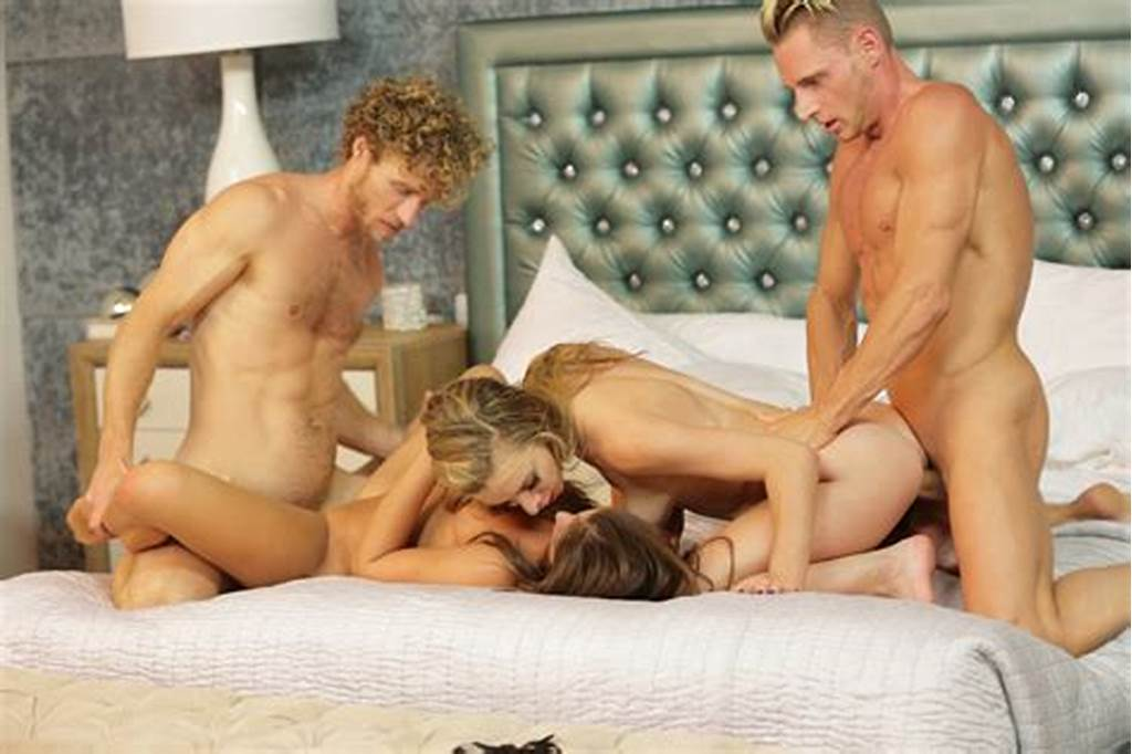 #Sexy #Foursome #With #Caprice #And #Anya #Olsen