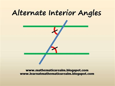 alternate interior angles the sum of the angles of a triangle part 2 exploration