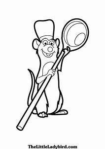 Free Ratatouille Coloring Pages