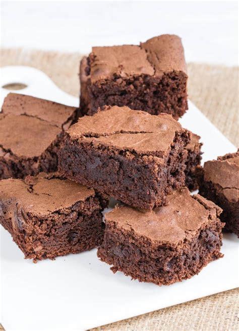 recipe chocolate brownies  mayonnaise fuss
