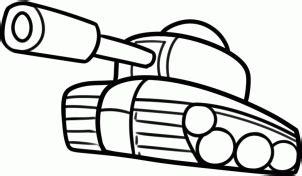 panzer einfach zeichnen lernen schritt fuer schritt
