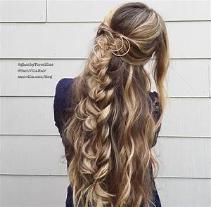 Effortless DIY Bohemian Braided Hairstyle
